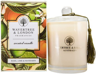 Wavertree & London Soy candle - Basil Lime Mandarin