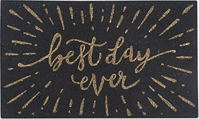 Now Designs Doormat - Best Day Ever