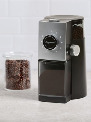 Capresso Grind Select Coffee Disk Burr Grinder