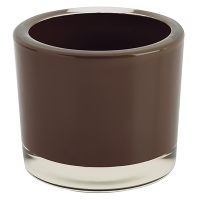 DII Votive Candle Holder - Chocolate Brown