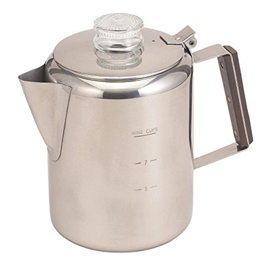HIC Stovetop Coffee Percolator -  9 Cup