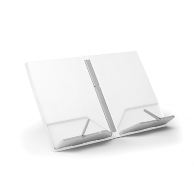 Cookbook Stand - White/Grey