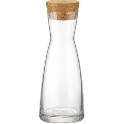 Bormioli Rocco Ypsilon Carafe with Cork Lid - 9.75oz