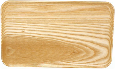 JK Adams X-Large Coupe Tray - Maple