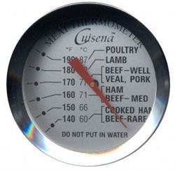 Cuisena Stainless Steel Meat Thermometer