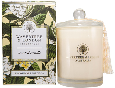 Wavertree & London Soy candle - Frangipani Gardenia