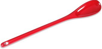 "Gourmac Melamine 12"" Mixing Spoon - Red"