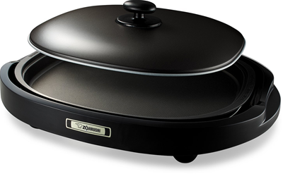 Zojirushi EA-BDC10 Gourmet Sizzler Electric Griddle, Dark Brown