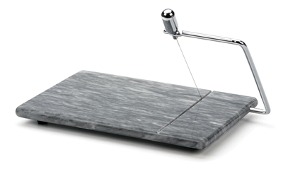 RSVP Grey Marble Cheese Board and Slicer