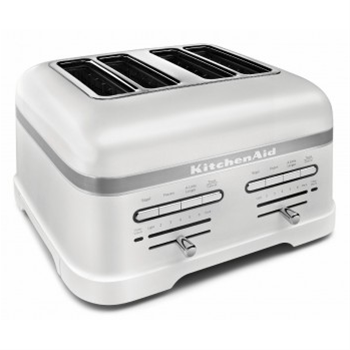 KitchenAid Pro Line 4-Slice Toaster Frosted Pearl White