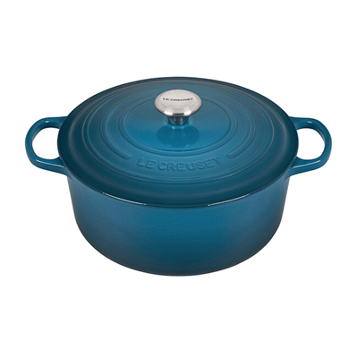 Le Creuset Signature 5.5 qt Round French Oven - Deep Teal