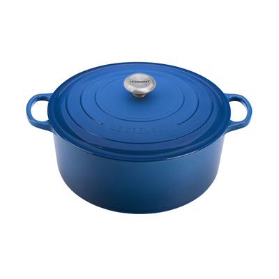 Le Creuset Signature 13.25-Qt Round Dutch Oven - Marseille Blue