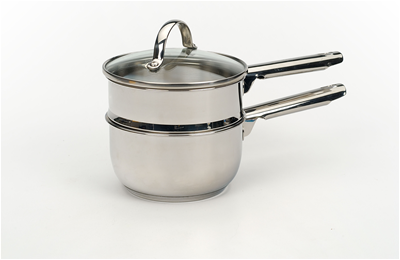 RSVP Endurance Stainless Steel 1qt Induction Double Boiler