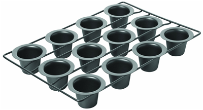 Chicago Metallic Mini 12 Cup Popover Pan