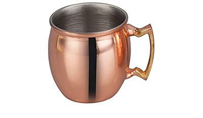 Copper Plated Smooth Finish Moscow Mule Mug - 20oz