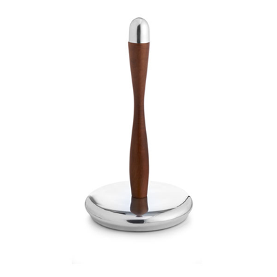 Nambe Curvo Paper Towel Holder
