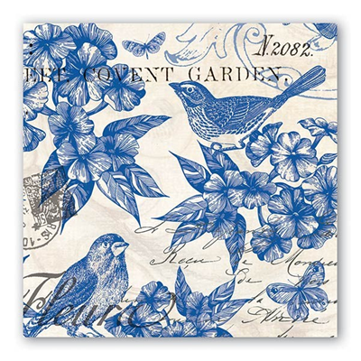 Michel Design Works 3-Ply Paper Luncheon Napkins - Indigo