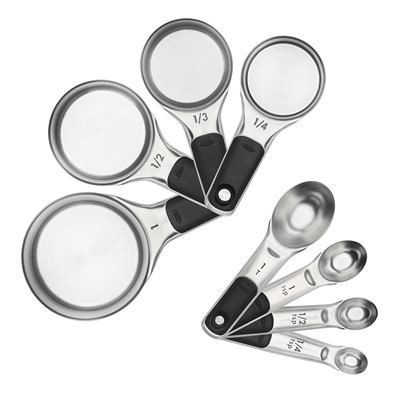 Oxo Good Grips Stainless Steel Measuring Cup & Spoon Set