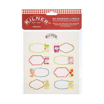 Kilner 24pc Pantry Label Set