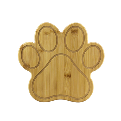 Totally Bamboo Paw Cutting and Serving Board