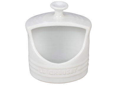 Le Creuset Salt Crock - White 10 oz.