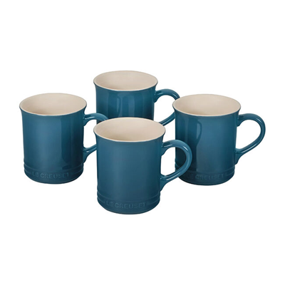 Le Creuset 14oz Mug Set - Deep Teal
