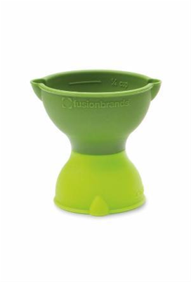 Fusionbrands PopMeasure 2-in-1 Pop Up Silicone Measuring Cup - Assorted Colors