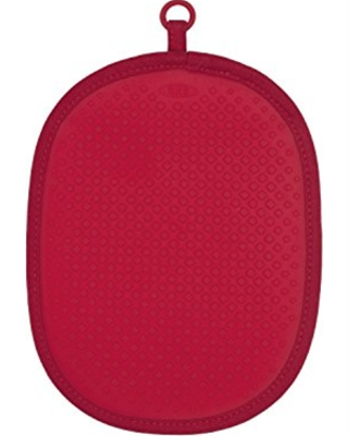 Oxo Silicone Pot Holder - Red