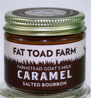 Fat Toad Farm Salted Bourbon Goat's Milk Caramel Sauce -2oz