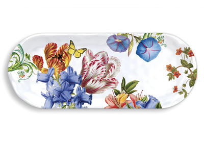Michel Design Works Summer Days Melamine Serveware Accent Tray