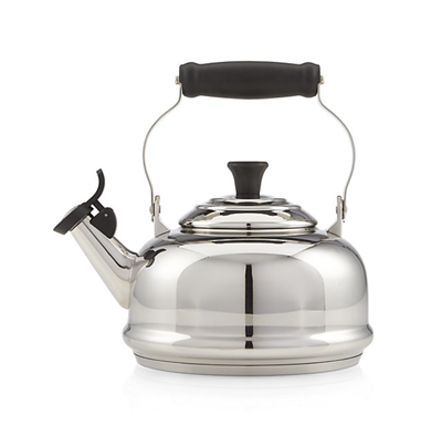 Le Creuset 1.8 qt Whistling Kettle - Stainless Steel