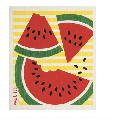 Wet-It Swedish Dishcloths - Watermelon