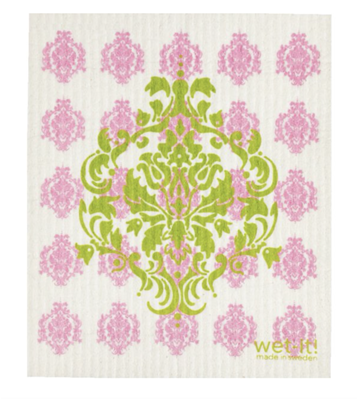 Wet-It Swedish Dishcloths - Damask Pastel