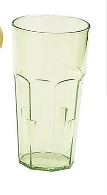 Acrylic Tall Tumbler - Lime