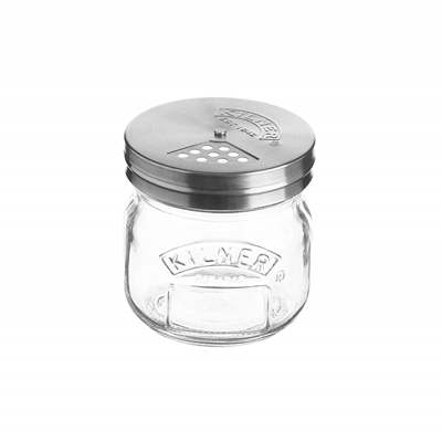 Kilner Glass Storage & Shaker Lid - 8.5 Fl-oz
