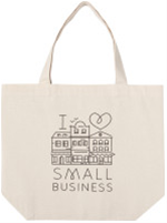 Support Small Business Tote Bag