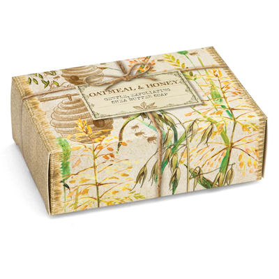 Michel Design Works Oatmeal & Honey Boxed Single Soap