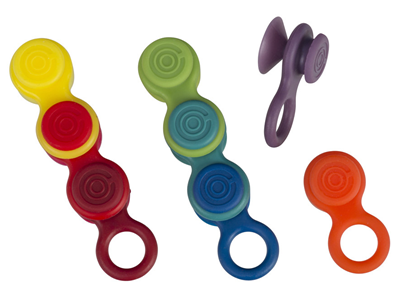 Le Creuset Silicone Glass Markers - Mixed Colors