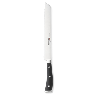 "Classic IKON 9"" Double Serrated Bread Knife"