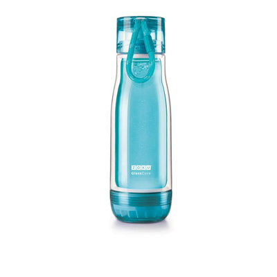 Zoku Everyday Glass Core Bottle 16oz - Teal